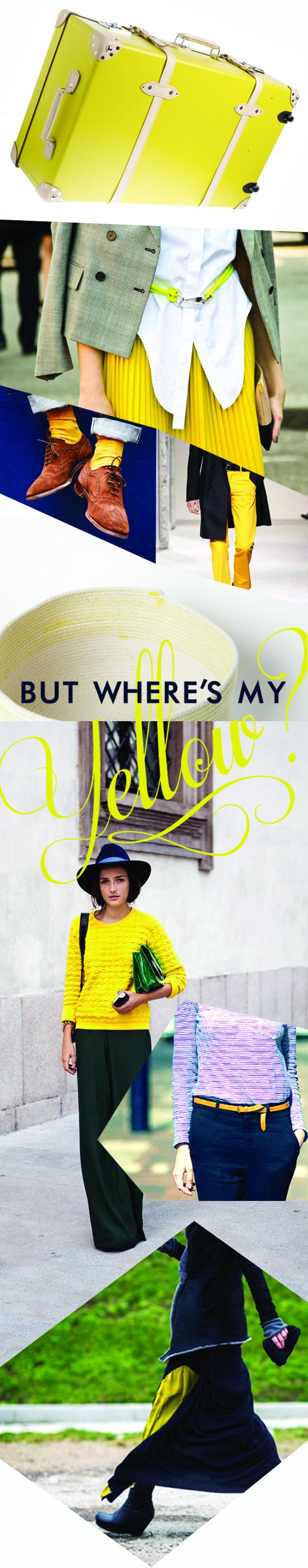 Yellow Blog Strip