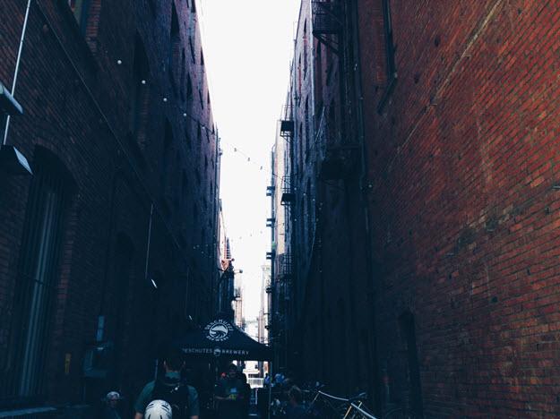 Alley Detail